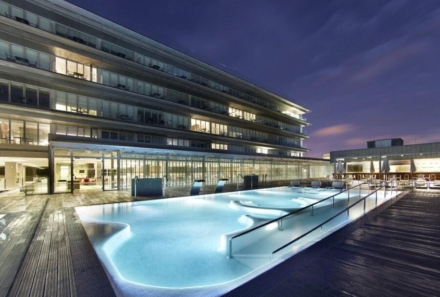 Spa parador hotel atl ntico hidroingenia for Pediluvio piscina