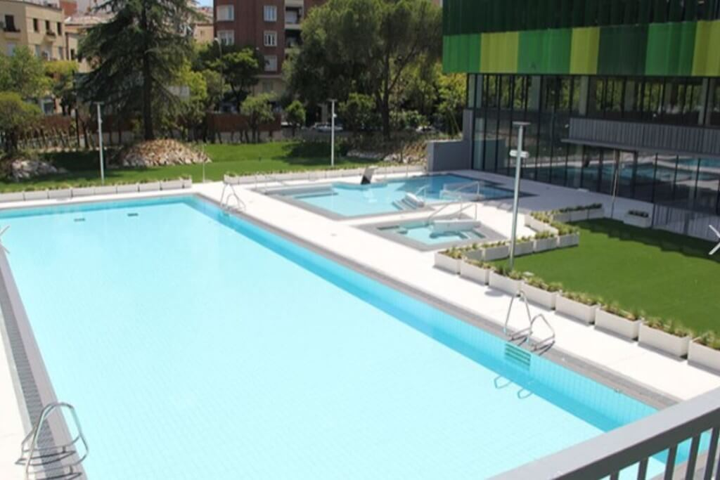 Piscinas go fit vallehermoso madrid hidroingenia for Piscinas en madrid centro
