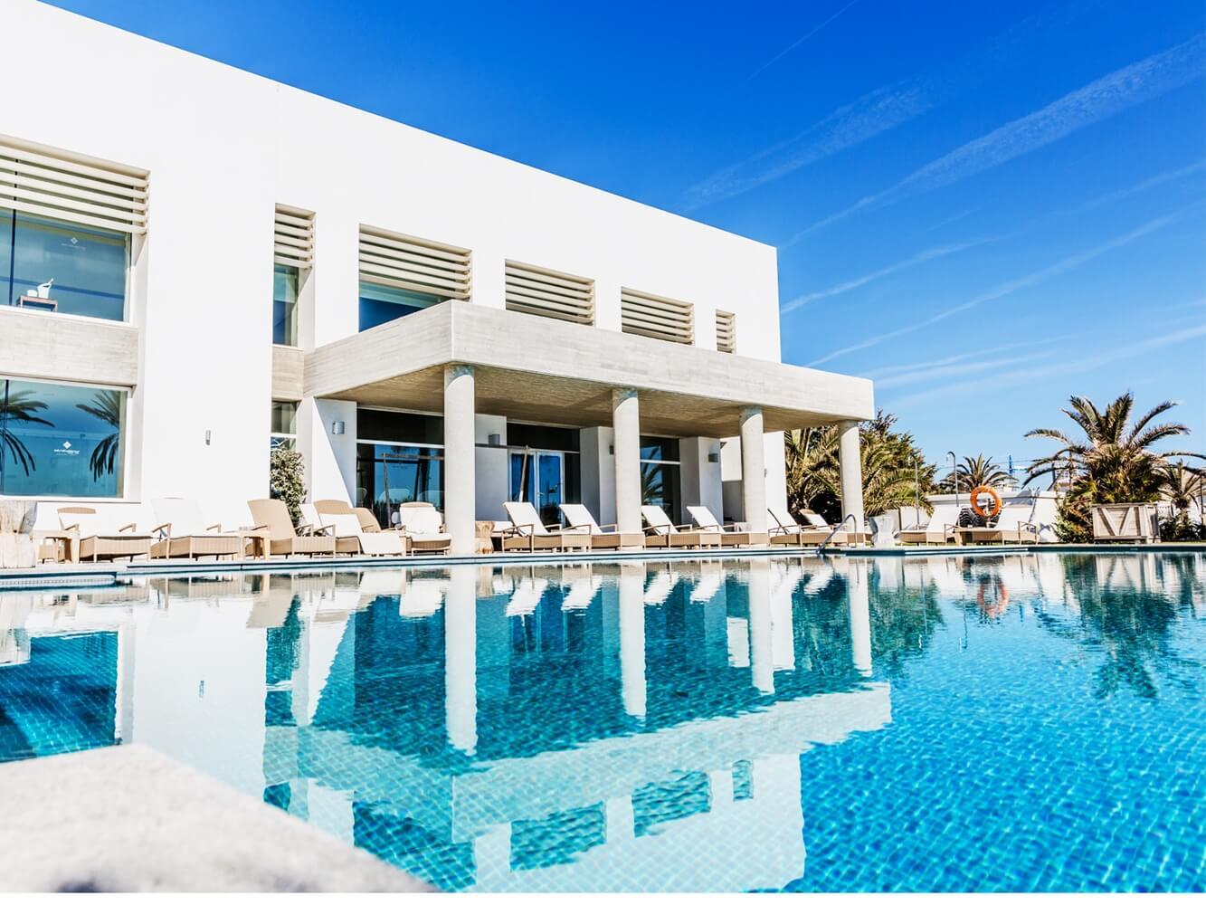 Piscina beach club hotel vincci estrella de mar hidroingenia - Estrella del mar beach club ...