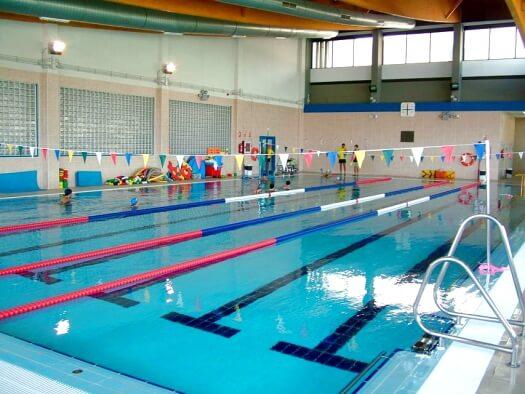 Piscinas i y ii del complejo acu tico municipal virgen del for 3 t piscina