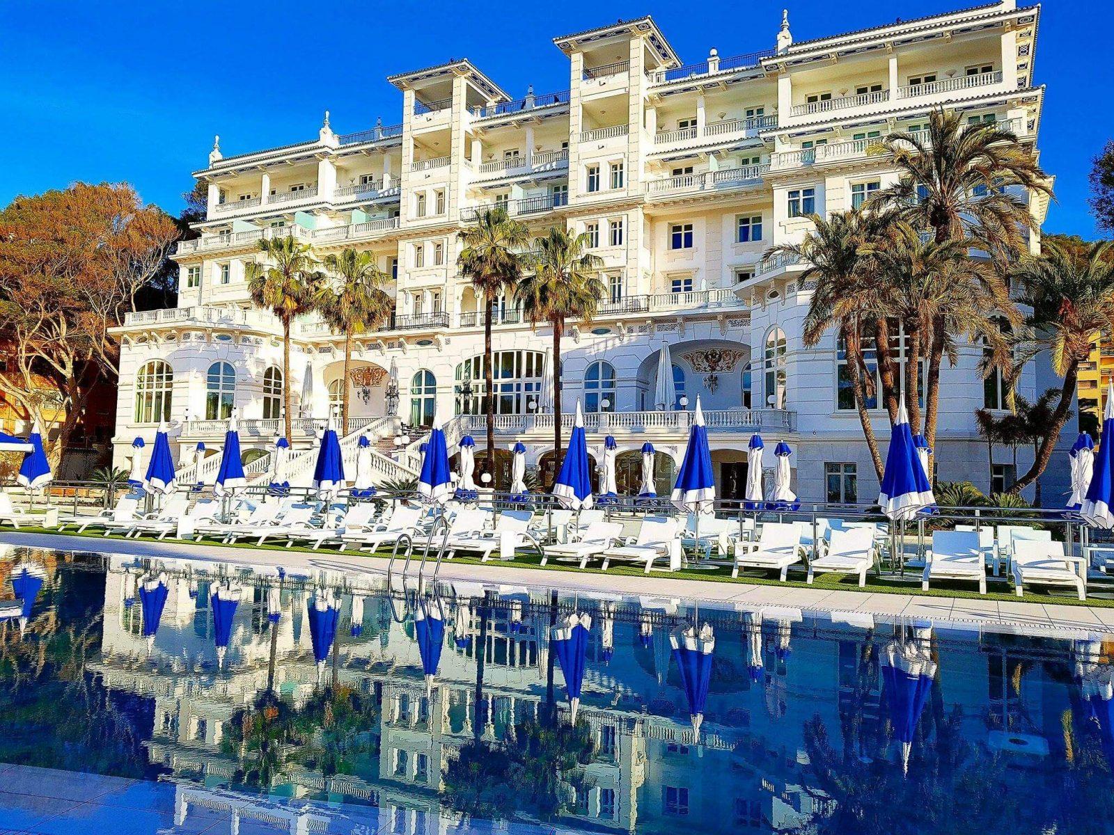 Piscinas gran hotel miramar m laga hidroingenia for Piscinas cubiertas malaga