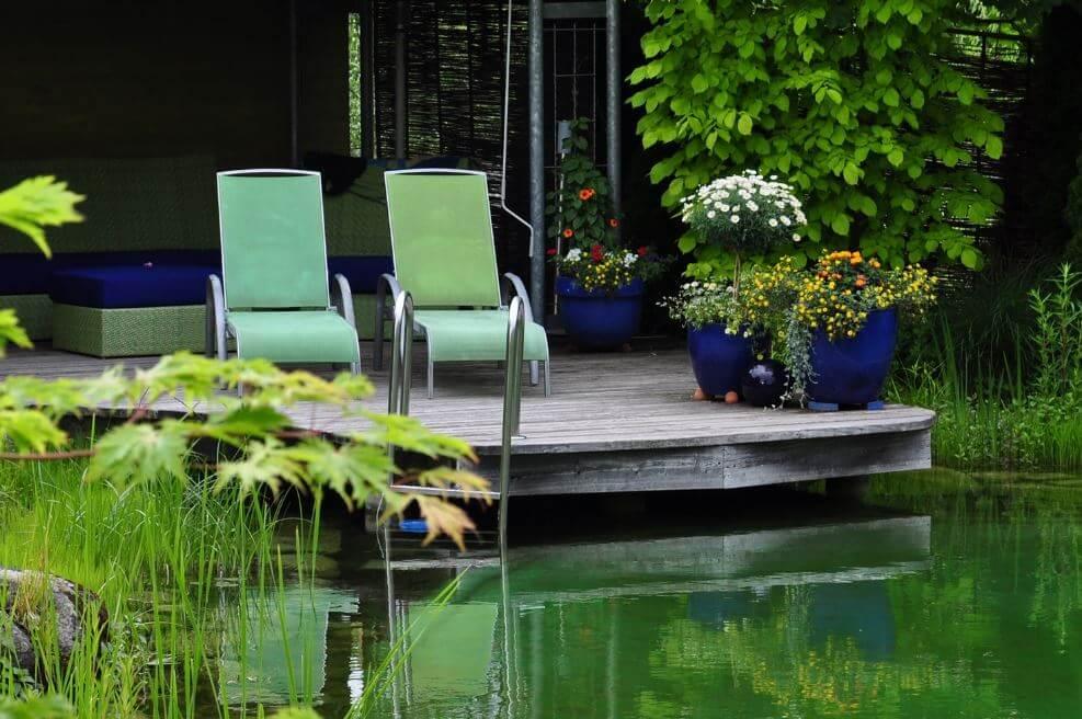 Diseño de piscinas naturales en espacios pequeños. - Hidroingenia