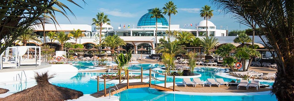Áreas de baño de Elba Lanzarote Royal Village Resort