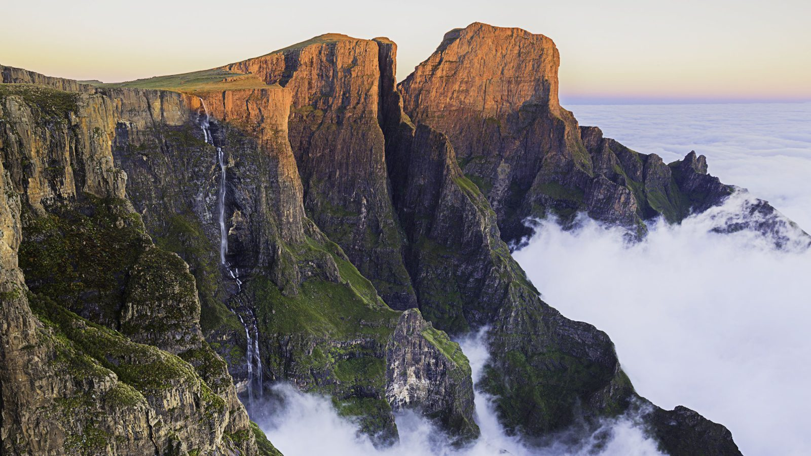 Cascada Salto Tugela Sudáfrica