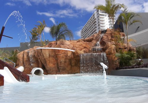 Parque Acuático multiaventura en Roca Nivaria Gran Hotel