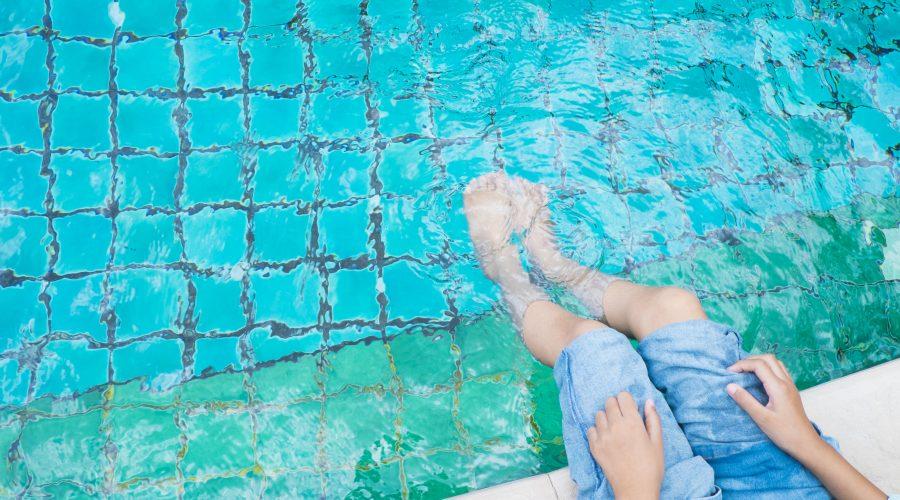 Terapia acuática para niños especiales, y que disfruten de la piscina