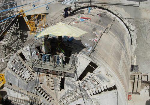 Finalización Túnel Sellado Tuneladora