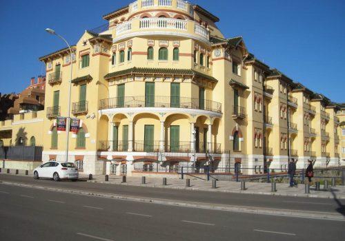 Consolidación estructural del Edificio La Caleta. Málaga
