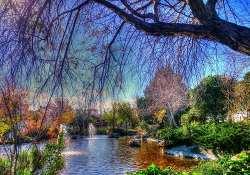Fuente del Parque del Calvario de Estepona