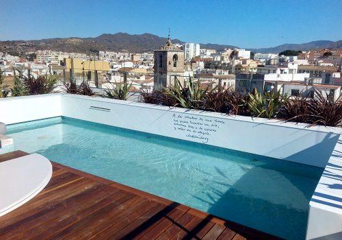 Ático centro histórico de Málaga