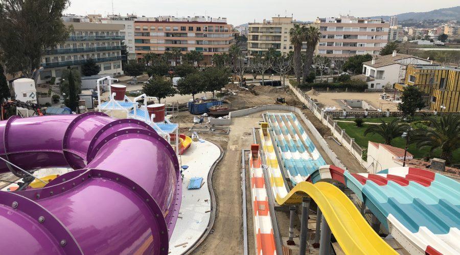 Avance de obra: Parque Acuático Hotel Golden Taurus Aquapark Resort