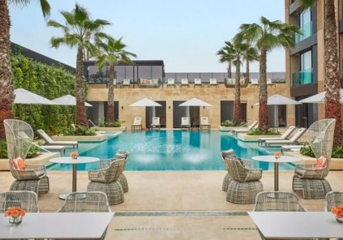 Piscinas del Hotel Four Seasons Casablanca