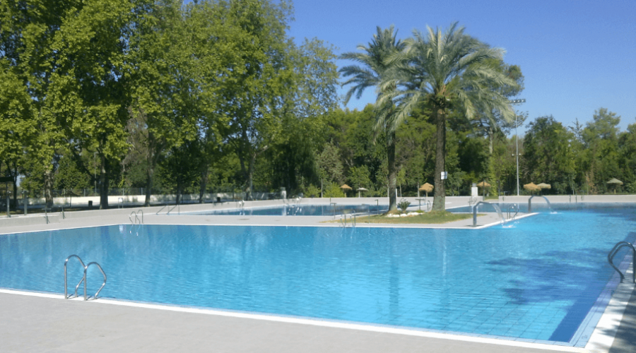 Piscinas de verano en Montilla.