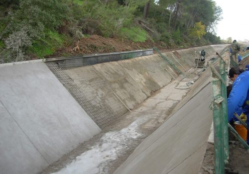 Reparación tramo Canal de Lobón en Badajoz