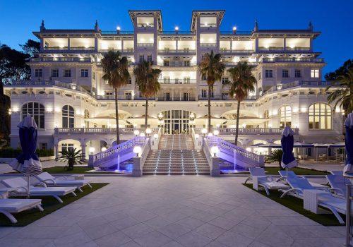 Fuentes ornamentales del Gran Hotel Miramar de Málaga