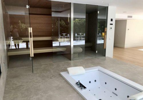 Spa en vivienda en Pozuelo de Alarcón