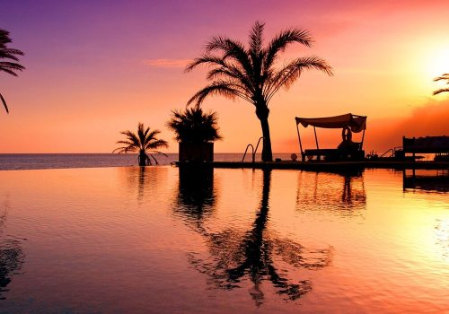 Piscina Beach Club Hotel Vincci Estrella de Mar
