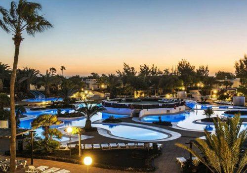 Piscinas Hotel Elba Lanzarote Royal Village Resort