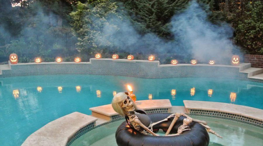 Halloween en tu piscina
