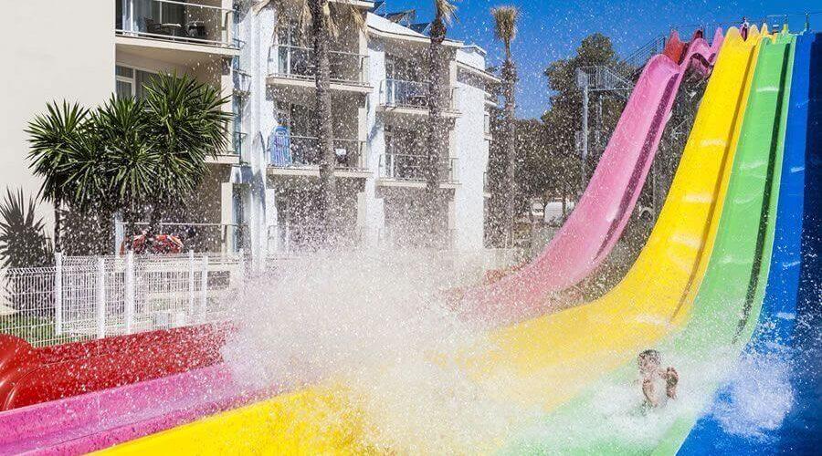Parque acuático del Hotel Globales Playa de Estepona.