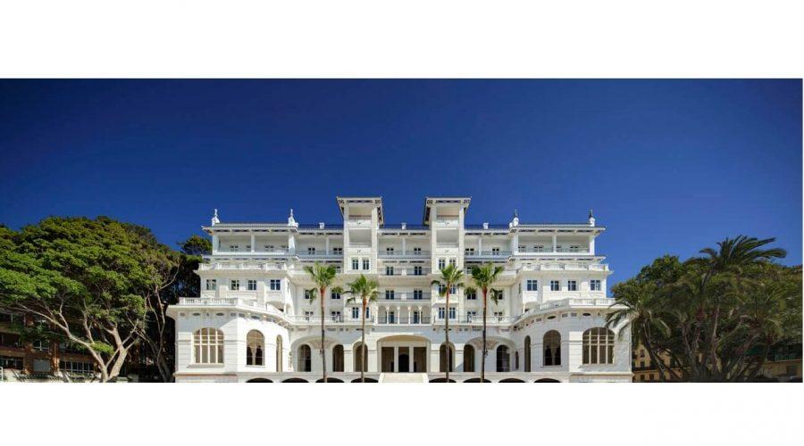 Construcción de piscinas exteriores y spa en el nuevo Hotel Miramar *****GL de Málaga