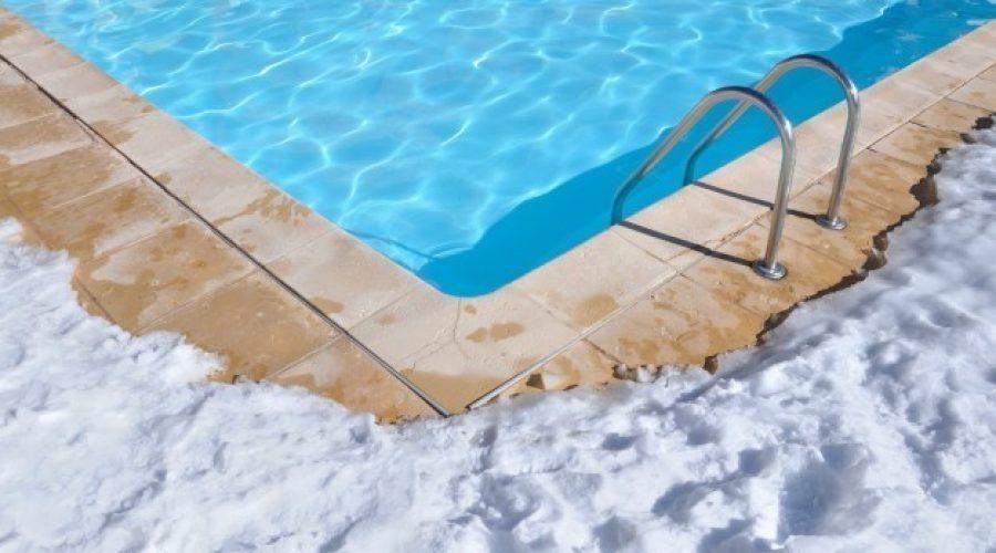 Tu piscina intacta, también en invierno