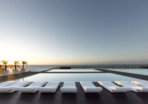 Piscinas Parador Hotel Atlántico