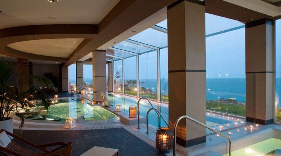 El Spa del Hotel Holiday Hydros en Benalmádena.
