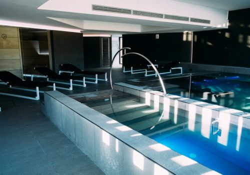Spa de Youtopia – The Sports Club. Trapenses